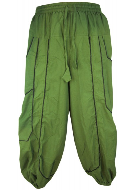 Green Baggy Trouser