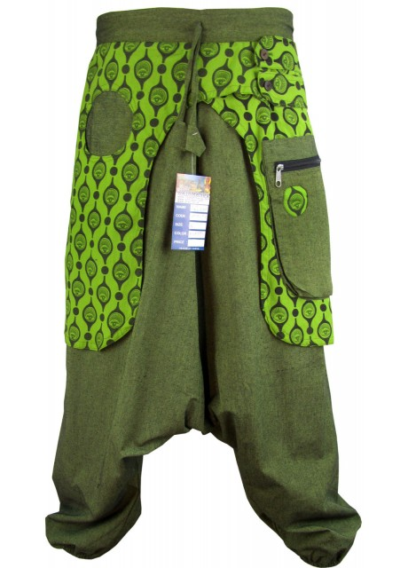 Eye Trouser Green