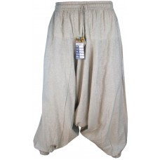 Hemp Natural Mens Harem Pants