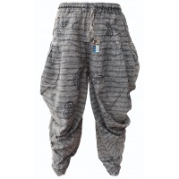 Samurai Pants Black Stonewashed