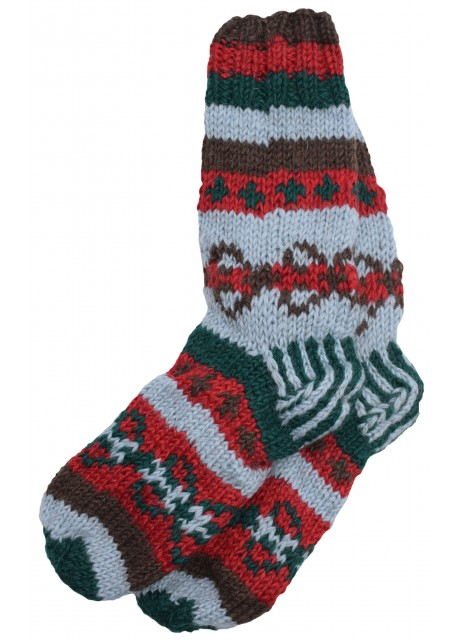 Fleece Lined Woolen Socks B