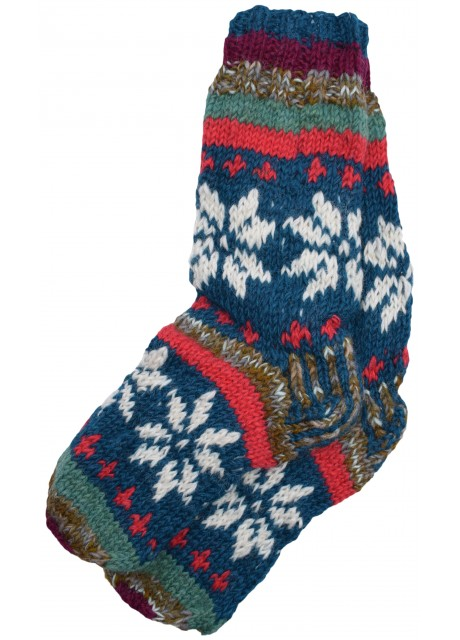 Fleece Lined Woolen Socks E