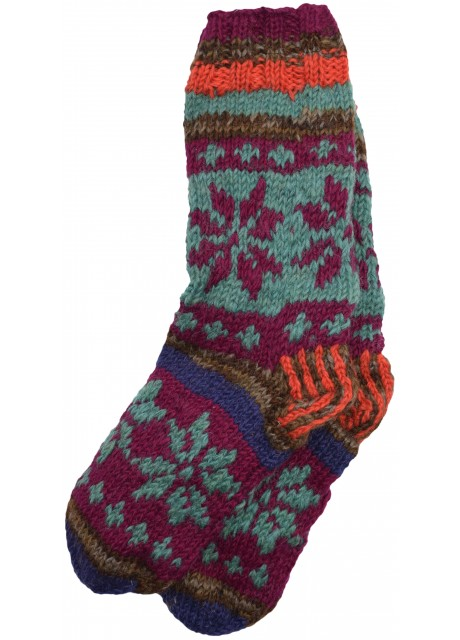 Fleece Lined Woolen Socks G