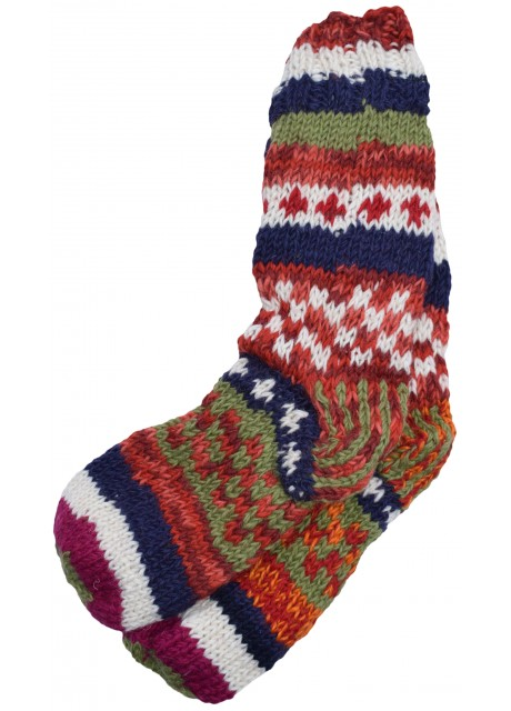 Fleece Lined Woolen Socks I
